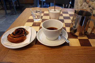 coffee made with aeropress