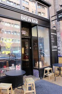 entrance of my Little Brew Bar