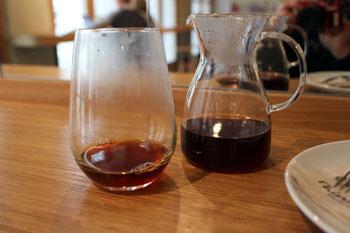filter coffee in Cafe Nomuri