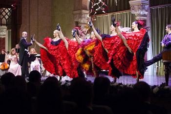 khan khan dancers in red dress
