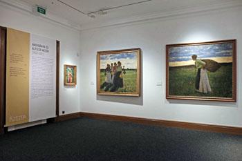 part of the Koszta exhibit in varkert