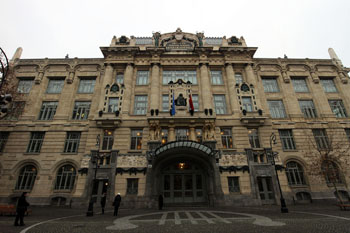 the facade of the Liszt Academy