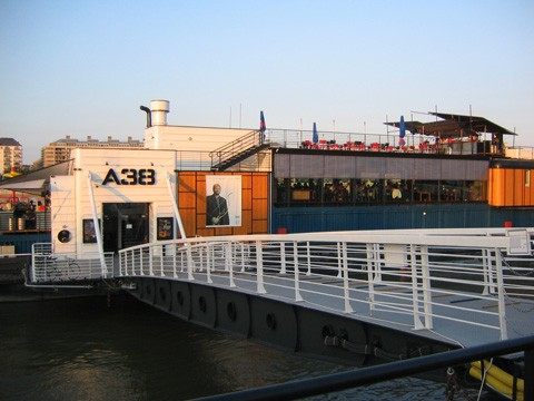 A38 ship on the Danube