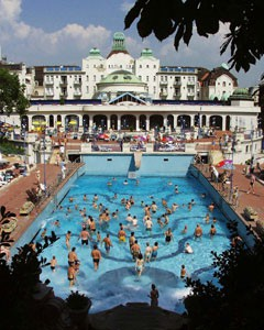 Gellért Spa: outdoor pools