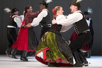 Performance of the Hungarian State Folk Ensemble