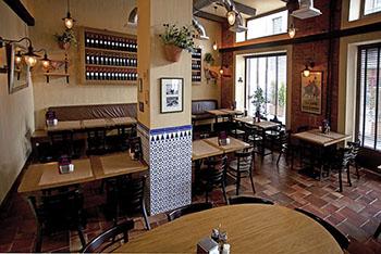 Pata Negra tapas bar inside