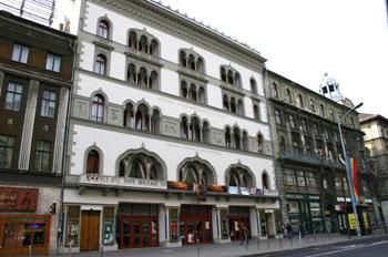 the facade of Urania