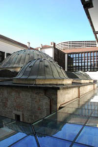 Domes of the Veli Bej Bath