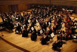 symphony concert in the Bela Bartok national Concert Hall