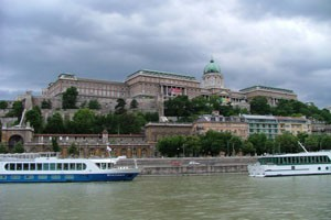 Castle Hill with the Royal Castle of Buda