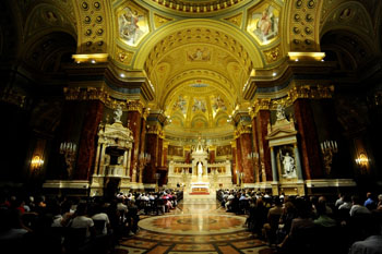 concert in St. Stephen Basilica