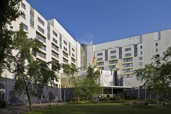 facade of Danubius Health Spa Resort Helia