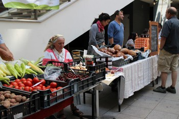 Farmers' Market (Kozos Piac) at the Godor Klub