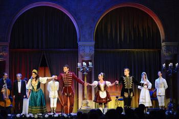 Czardas performance in the Pesti Vigado