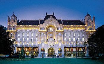 Gresham Palace, now the Four Seasons Budapest Hotel