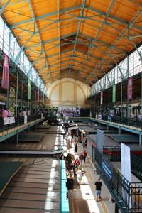 Belvárosi Piac market in Hold utca