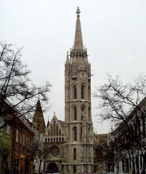 Matthias church-front view