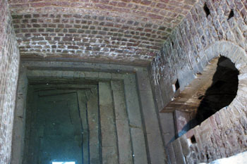 The Ritual Bath filled with water in the Castle