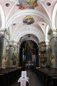 the St. Anne Church's nave