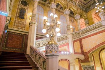 Vigadó hall grand stair case