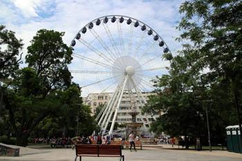 The Eye on Erzsébet tér