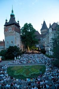 Summer concert in Vajdahunyad Castle