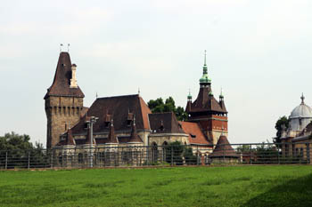 front view of the castle
